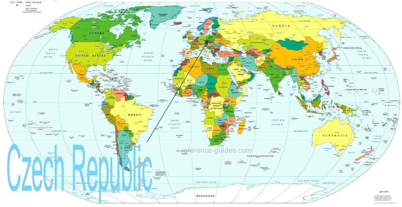 prague on world map Where Is Prague On A World Map Cyndiimenna prague on world map