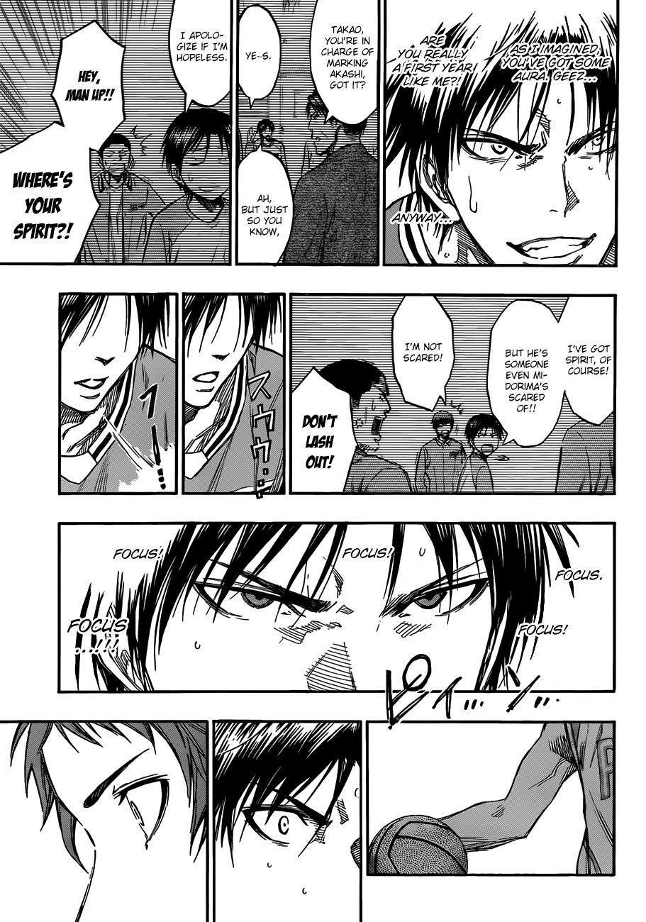 Kuroko no Basket Manga Chapter 176 - Image 05