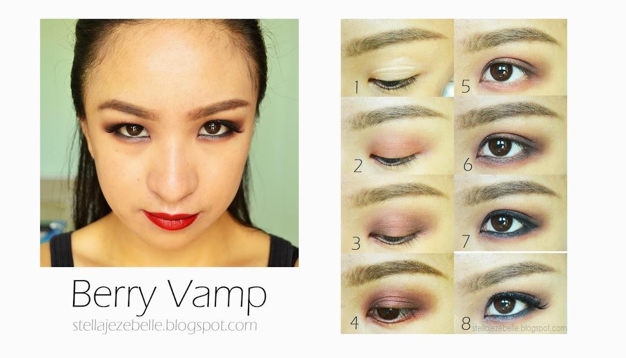 Berry Vamp Fall Autumn Makeup Look