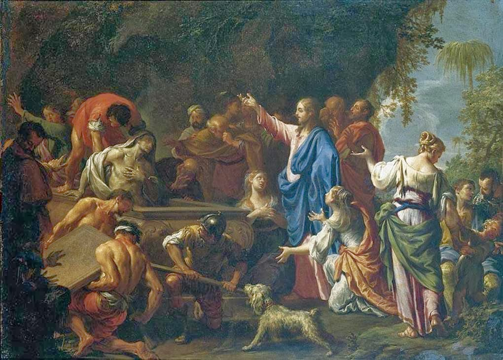 Francesco Trevisani - The Raising of Lazarus