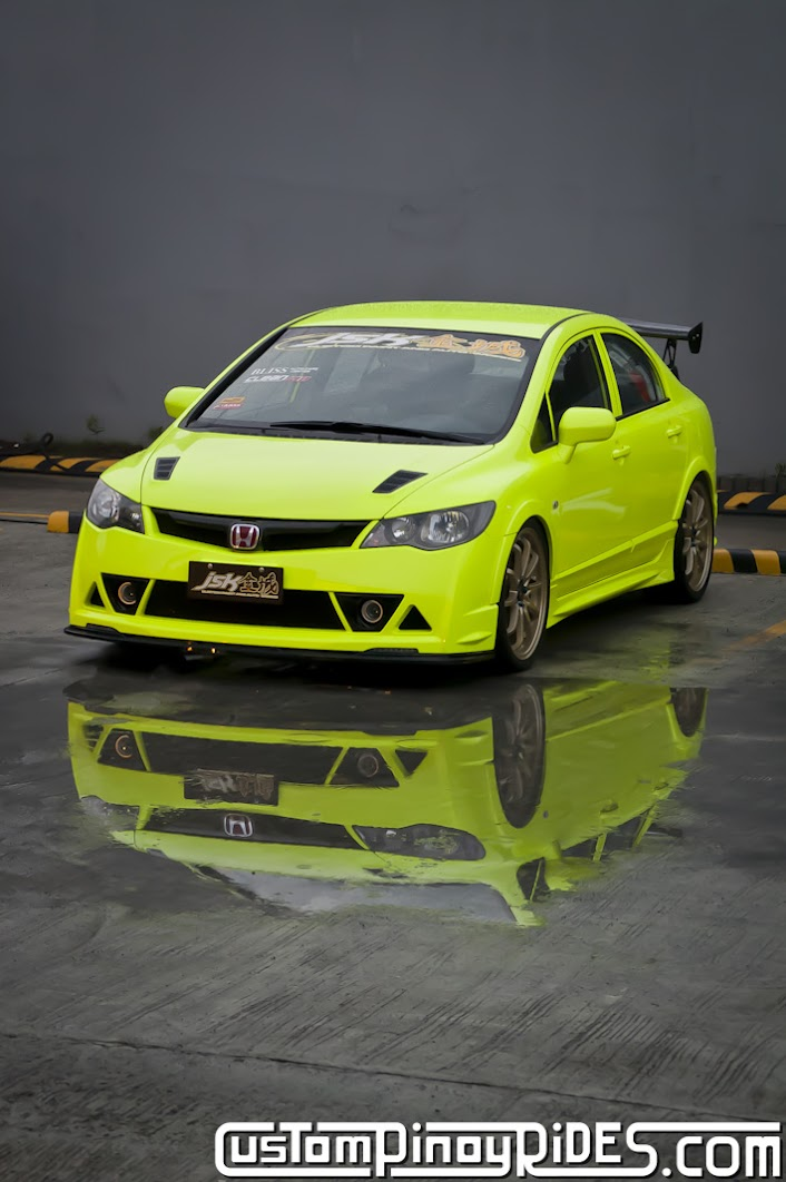 Honda Civic FD Twins by JSK Custom Paint and Auto Works Custom Pinoy Rides Car Photography pic2