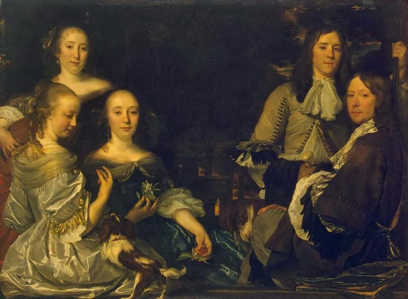 Abraham Lambertsz. van den Tempel - Family Portrait