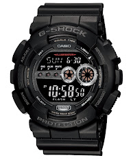 Jam Tangan Unisex Analog-Digital Tali Karet  Casio G-Shock : GMA-S120MF-1A