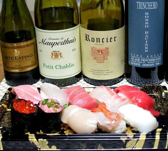 お寿司に合う頒布会ワインは