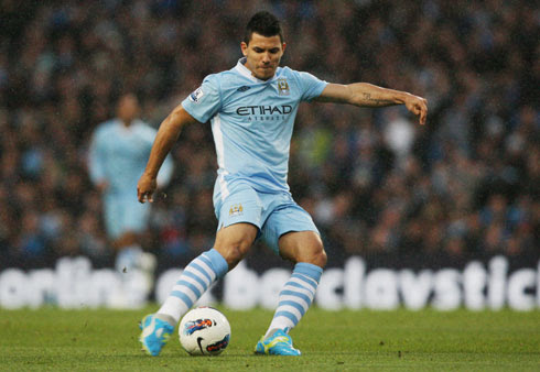 Sergio Aguero, Manchester City - West Bromwich Albion