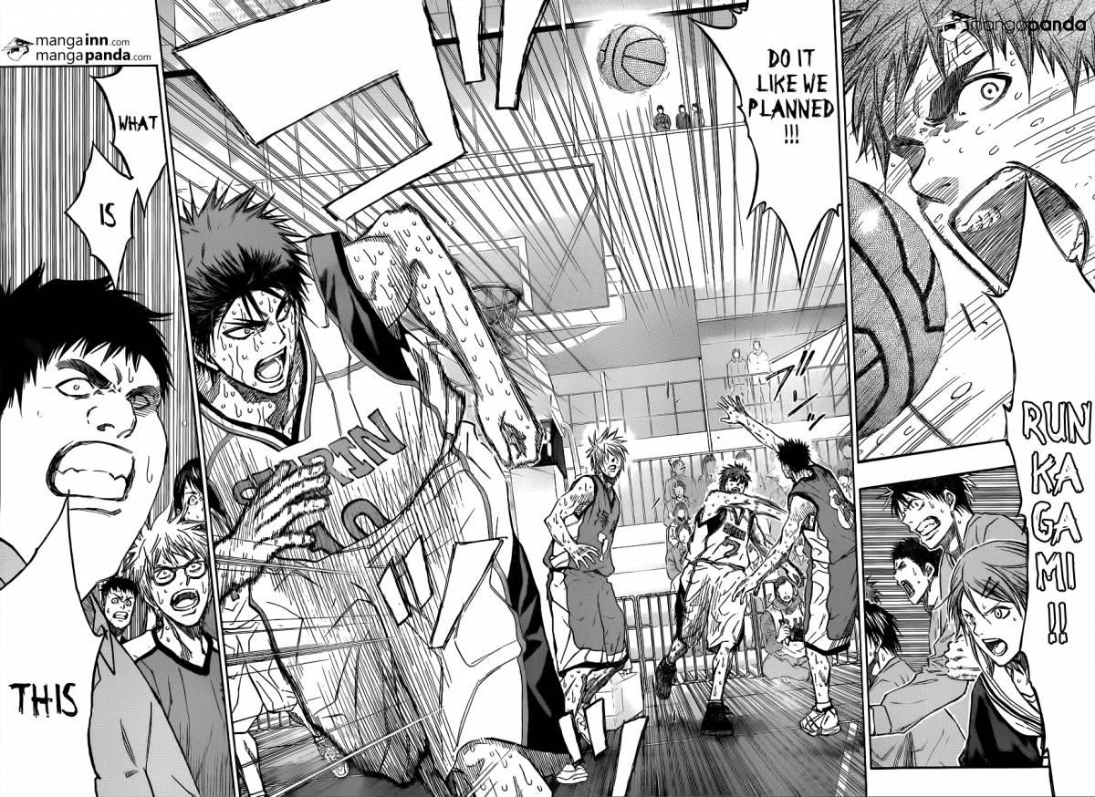 Kuroko no Basket Manga Chapter 202 - Image 08-09
