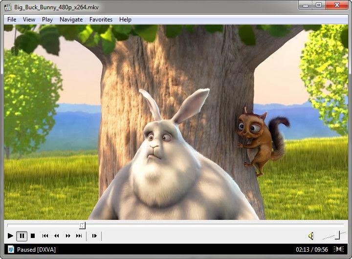 Screenshot of Media Player Classic v.6.4.9.1 Multimedia Player PC Software Free Download at alldownloads4u.com