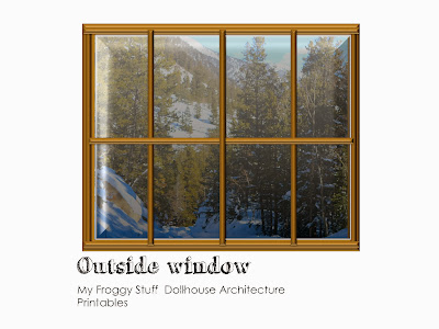photo relating to Dollhouse Windows Printable named My Froggy Things: Cost-free Dollhouse Printables : Home windows and Doorways