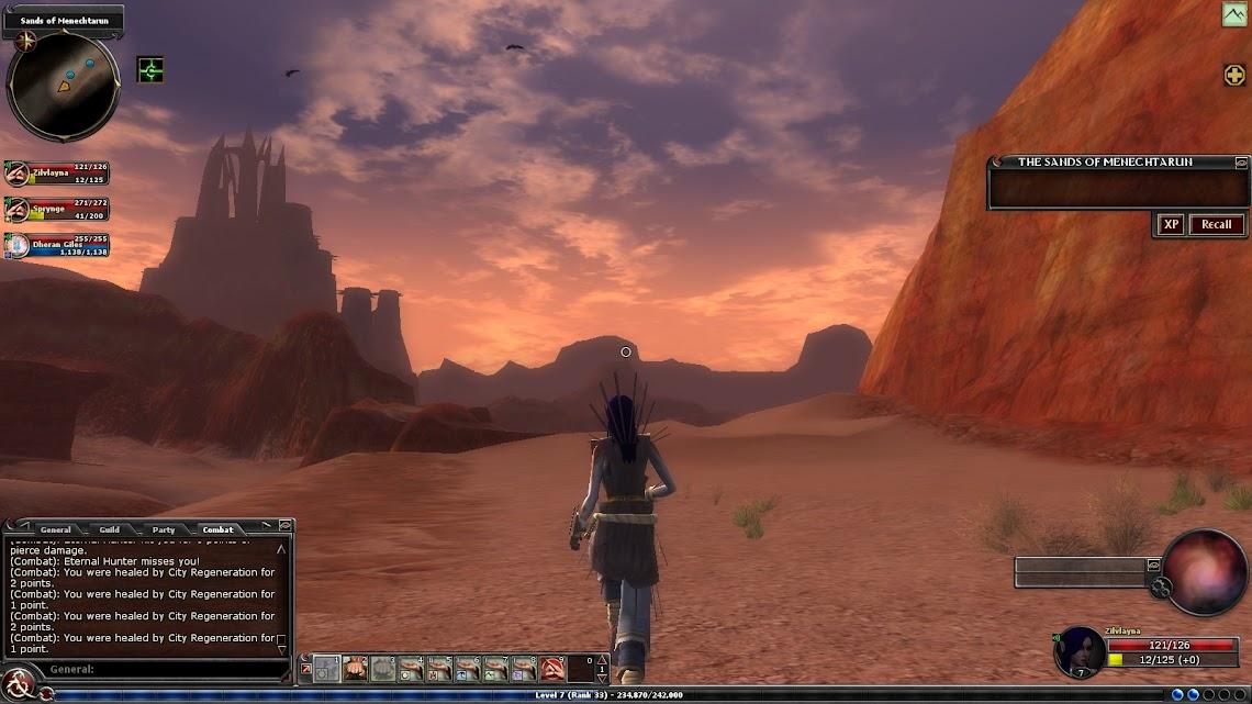 Sands evening