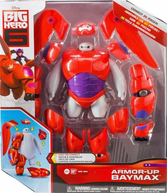 Bộ lắp ráp mô hình Armor Up Baymax Big Hero 6 được sản xuất và cam kết về chất lượng bởi hãng Bandai