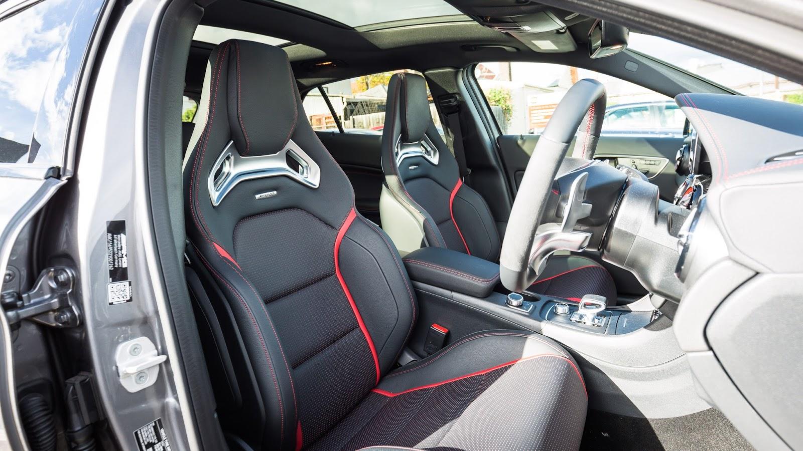 Ghế AMG, thể thao, cá tính, tạo sự phấn khích cho người lái