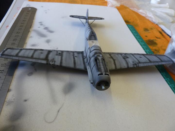 Bf-109 E-3 Tamiya 1/48 - Reforma pintura P1020458
