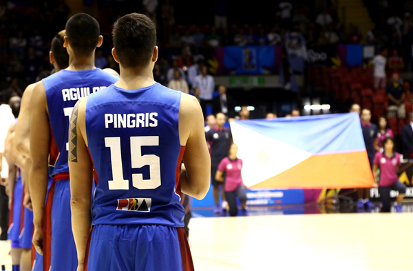 singing national anthem of philippines in fiba world cup