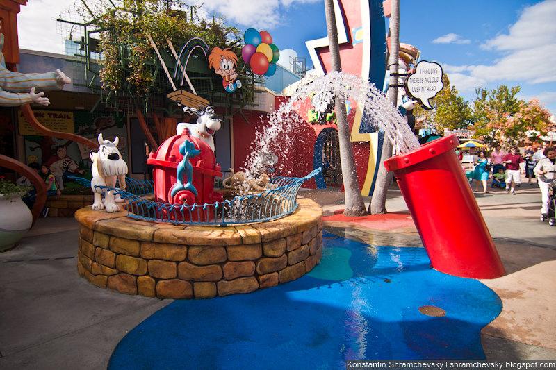 USA Florida Orlando Universal Islands Of Adventure Cartoons США Флорида Орландо Юнивёрсал Айлендс оф Адвенча Острова Приключений Мультики