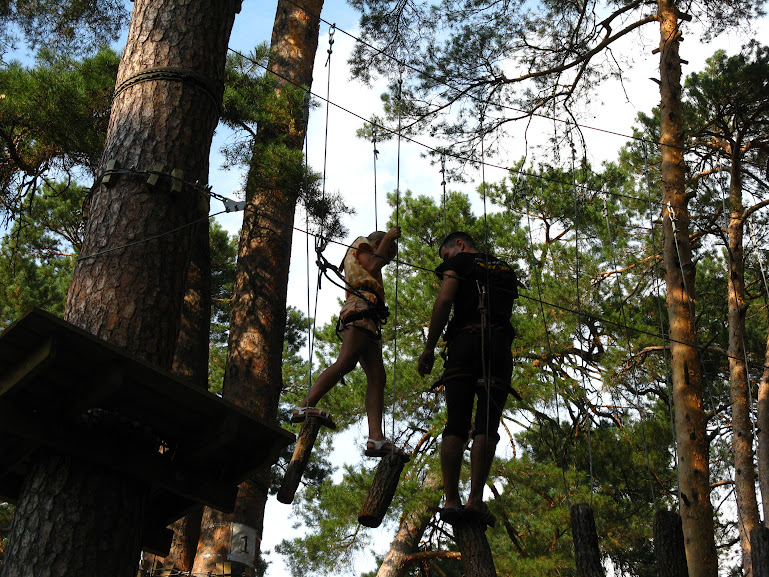 Чердачок: Веревочный парк. Трасса №2 - подготовка