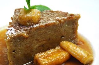 Bananas Foster Bread Pudding - Dickie Brennan's Steakhouse