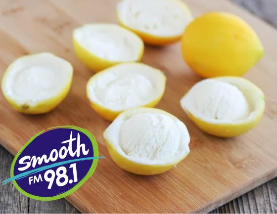 Lemon Coconut Sorbet