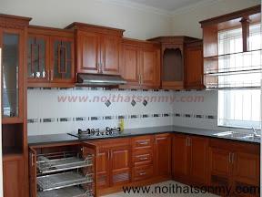 Tủ bếp gỗ đẹp SM192