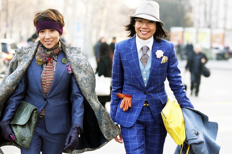 *Paris Fashion Week Fall/Winter 2013 Street Style:Nam巴黎時裝週街拍! 9
