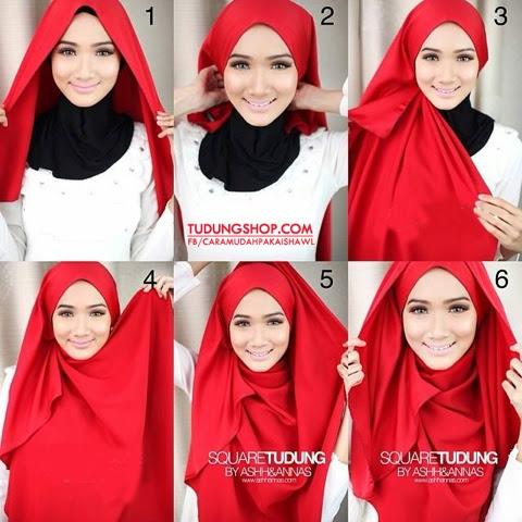 by @Atita Haris. Cara pakai shawl yang ini pun senang nak ikut. Yang ...