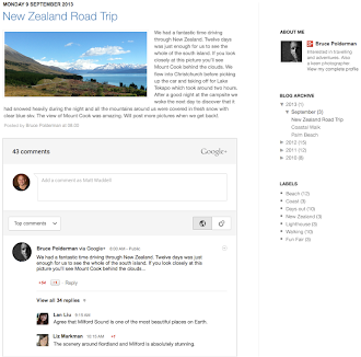 Blogger Google Plus