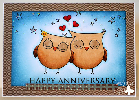 Happy Anniversary Card by Paula Laird and used with permission.