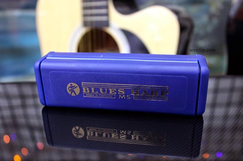 Kèn Harmonica - Hohner Blues Harp MS (key A)