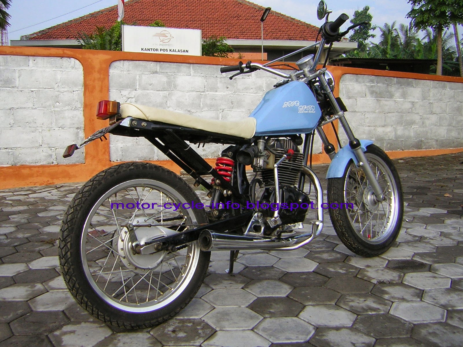 Gl Max Modifikasi Trail