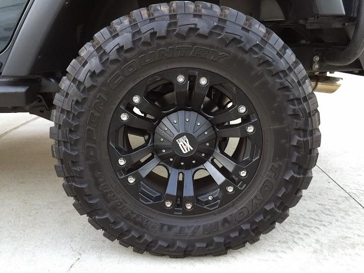 """33 Inch Tire 20 Inch Rim >> 18"""" rims on 35"""" tire pics - Jeep Wrangler Forum"""