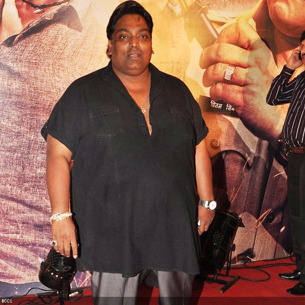 Ace choreographer Ganesh Acharya at the premiere of the movie 'Zila Ghaziabad', held at PVR Cinema in Mumbai, on February 21, 2013. (Pic: Viral Bhayani)