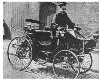 Sejarah otomotif, 10 kejadian pertama dunia otomotif, Peugeot 1896, mobil pertama yang dicuri
