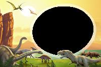 molduras-para-fotos-gratis-dinossauros