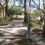Gate on Sid Pulsford Walking trail near Honeman's Rock (234014)