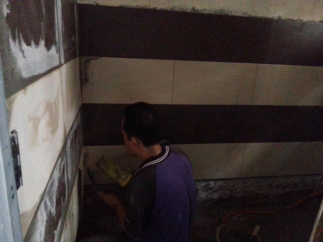 upgrade toilet wall