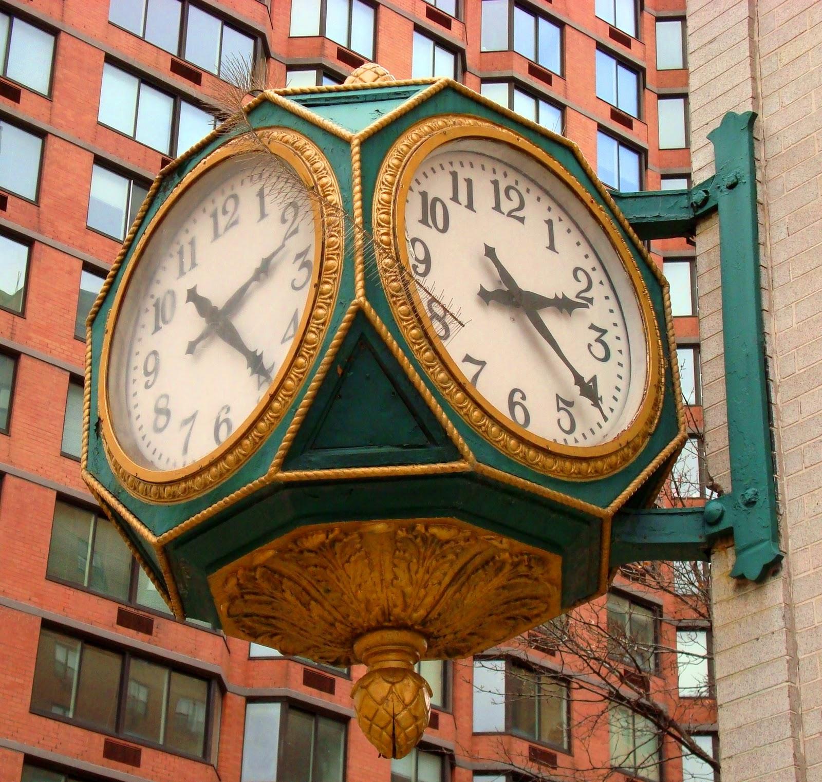 David Cobb Craig A Dozen Street Clocks In Manhattan