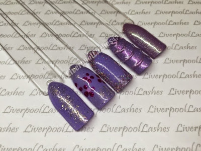liverpoollashes liverpool lashes cnd shellac new colours garden muse collection wisteria haze