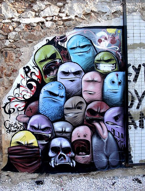 the trend of graffiti - photo #24