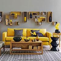 Thi công nội thất gỗ: Trang trí nhà từ đơn giản đến cá tính với gam màu vàng