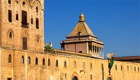Die Geschichte Siziliens - Der Palazzo dei Normanni in Palermo.