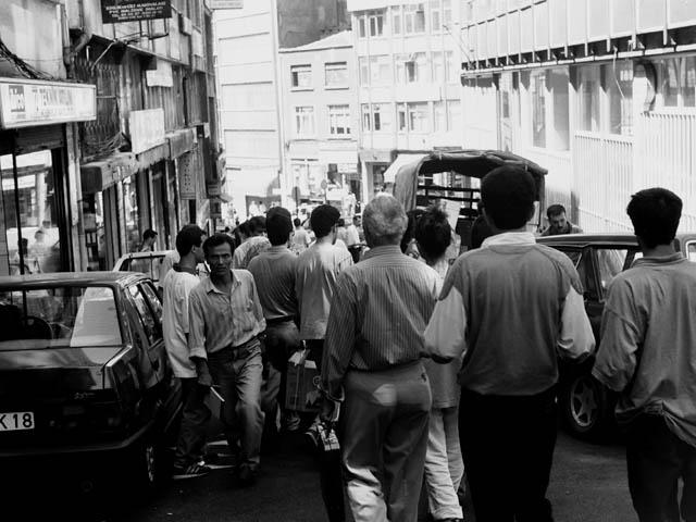 イスタンブールの通り