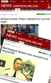 Belfast riots 2013