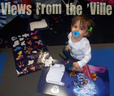 Free Kids' Activities - Stickers at the Disney Store