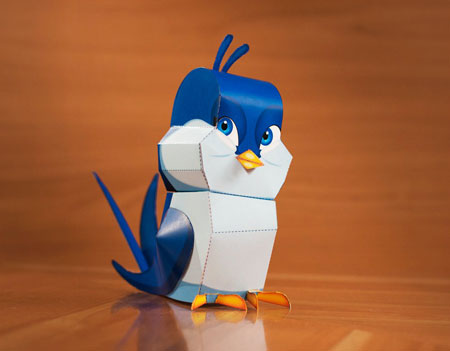 Swallow Papercraft
