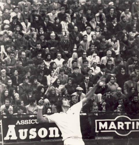 1972. Nastase Davis Cup final