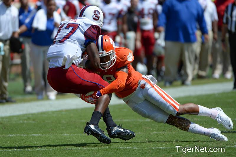 SC State vs. Clemson Photos - 2013, Darius Robinson, Football, SC State