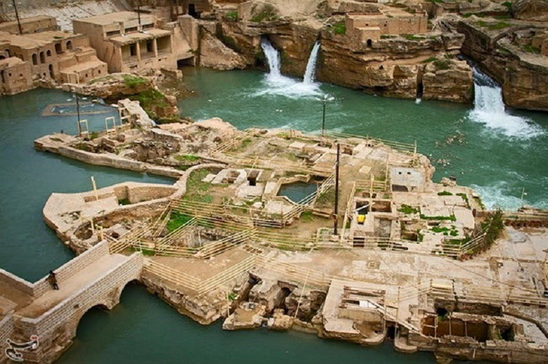 Iran: Iran's Shushtar Historical Hydraulic System in photos