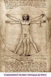 Совершенный человек Леонардо да Винчи