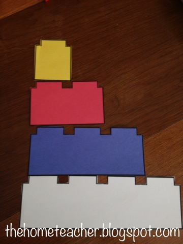 our lego day plus free lego book template the home teacher