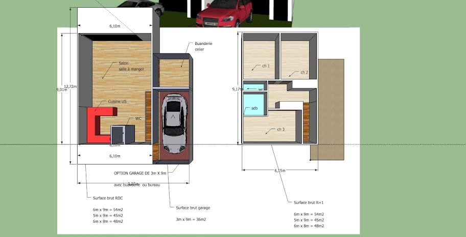 Modele pour promoteur immobilier for Modele de maison container