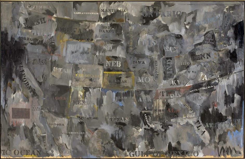 Jasper Johns Map